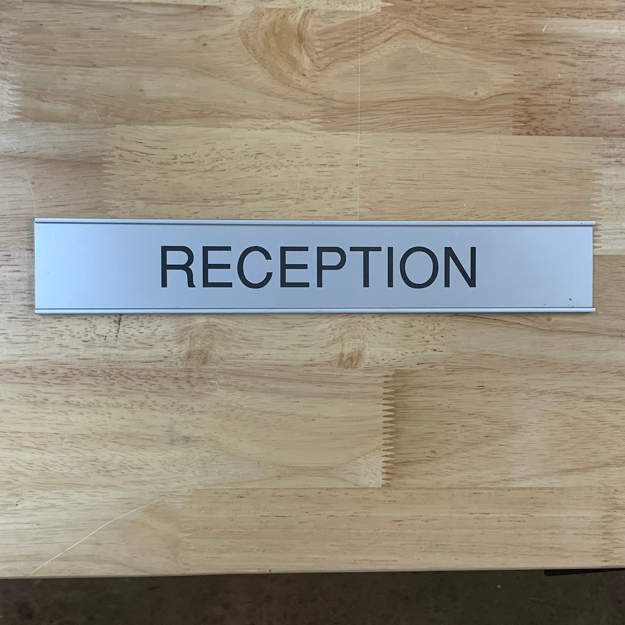 Engraving reception